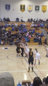 The tip-off of the 2014 District Girls Basketball Playoffs on Sunny.FM!