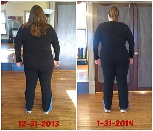 Nancy one month after picture training synergy fitness marquette michigan