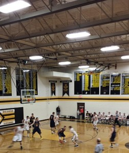 Negaunee MIners Boys Basketball vs Iron Mountain Mountaineers on Sunny.FM 02/25/14