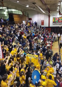 Negaunee Miners Boys Basketball vs Marquette Redmen on Sunny.FM 02/13/14