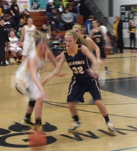 Negaunee Miners Girls Basketball vs Gwinn Modeltowners on Sunny.FM 02/11/14