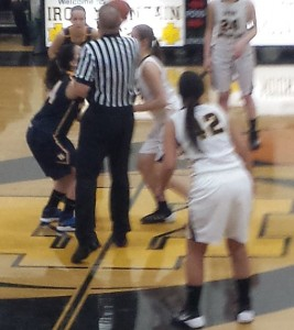 Negaunee Miners Girls Basketball vs Iron Mountain Mountaineers on Sunny.FM 02/06/14