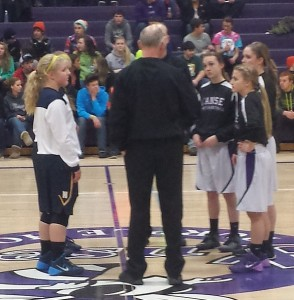 Negaunee Miners Girls Basketball vs L'Anse Purple Hornets on Sunny.FM