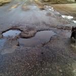 2014 Spring Potholes Marquette County Michigan 02