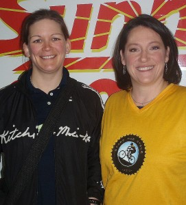 Christina Bennett and Laura MacDonald.