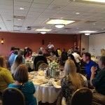 Tim kramer of the Symetra Tour addressed the room at Sweetgrass