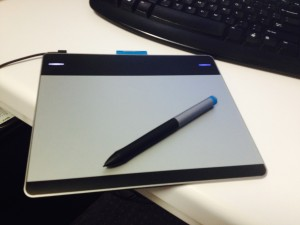 The Wacom Intuos Creative Pen Tablet