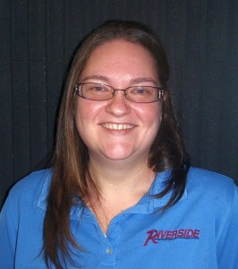 Riverside Sales Associate Chrissy Andel.