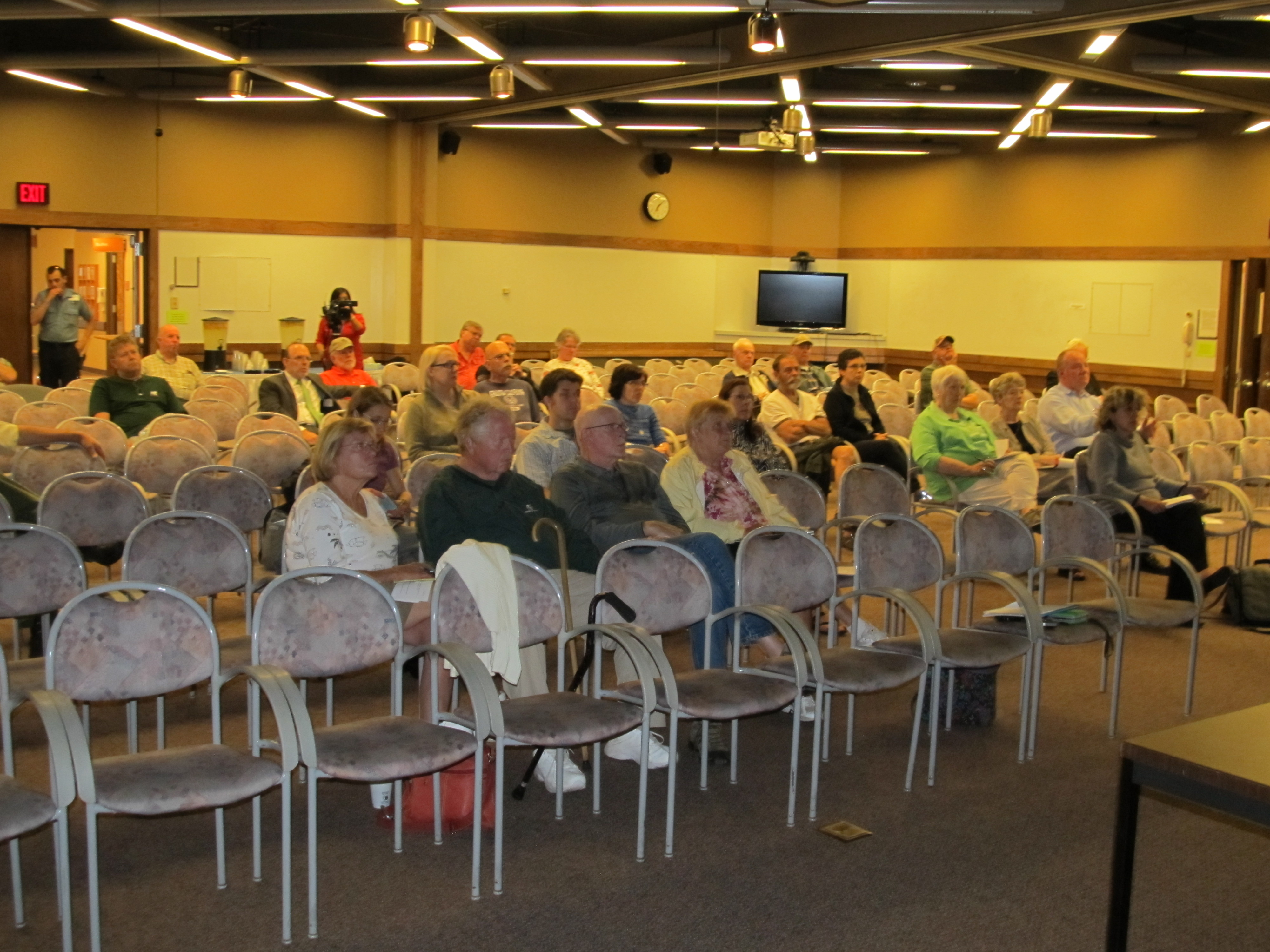 The attendees at MGH's Public Forum