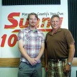 Brice Burge (Running for Marquette City Commission) with Dan Adamini of In The Right Mind on Sunny FM