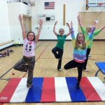 Yoga with the Gwinn Girls on The Move 2014