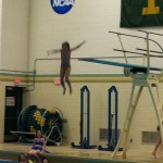 Diving Girl!  Gwinn Girls on the Move 2014