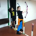 Girls on the Move and Archery at Gwinn