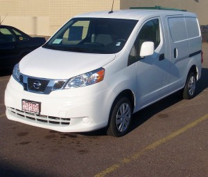 Nissan's new cargo van, available at Riverside Marquette.