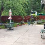 The outdoor patio deck is the perfect place to relax and enjoy a bit of nature.