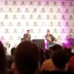 Sitting in on the Karl Urban panel before watching a sneak peak of the Gotham pilot.