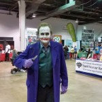 Do not ask the Joker how he got his scars. It's a bad idea.