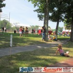 the crowd at the Marquette Township Community Days were out to enjoy some sunny weather and country music.