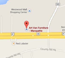 Art Van Furniture in Marquette