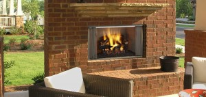 Own an outdoor fireplace and have a fire in your backyard anytime!