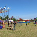 Enjoy the rides at the Marquette County Fair.