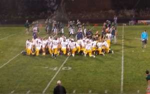 Negaunee Miners Football defeat the  Manistique Emeralds 28-0 on 08/29/14 on Sunny.FM.