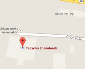 Find Tadych's Econo Foods in Marquette with Google Maps