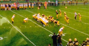 Negaunee Miners Vs Iron Mountain Mountaineers on Sunny.FM 09/19/2014