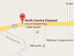 Find North Country Disposal with Google Maps