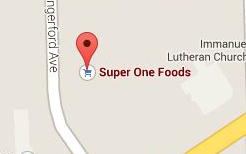 Find Super One Foods on Google Maps