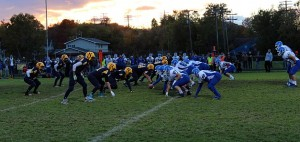 Negaunee Miners vs Ishpeming Hematites on Sunny.FM 10/10/14