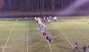 Negaunee Miners Football VS Norway Knights on Sunny.FM 10/03/14