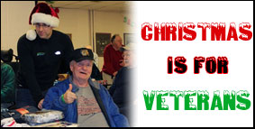 Give the gift of Christmas cheer to our veterans this year