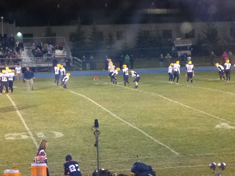 The Boyne City Ramblers defeat the Negaunee Miners in Boyne City, Michigan 47-0 on Sunny.FM - Friday, November 7th, 2014.