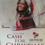 Cash for Christmas from Honor Credit Union