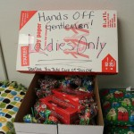 Hands off gentlemen! These gifts are for ladies only!