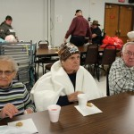 Veterans at the DJ Jacobetti Home for Veterans at the Christmas is for Veterans celebration