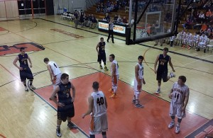 Negaunee Miners Boys Basketball VS Escanaba Eskimos 12/09/14
