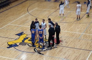Negaunee Miners Boys Basketball vs Kingsford Flivers on Sunny.FM. 12/16/14