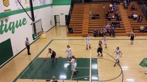 Negaunee Miners Girls Basketball VS Manistique Emeralds on Sunny.FM 12/0514