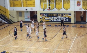 Negaunee Miners Girls Basketball vs Norway Knights on Sunny.FM 12/19/14.