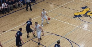 Negaunee Miner Boys Basketball vs Norway Knights on Sunny.FM 01/22/15