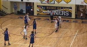 The Negaunee Miners Girls Basketball vs Ishpeming Hematites on Sunny.FM 01/26/15.