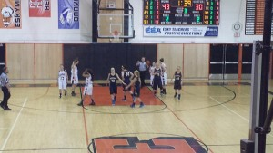 Negaunee Miners Girls Basketball vs Escanaba Eskymos on Sunny.FM 01/28/15