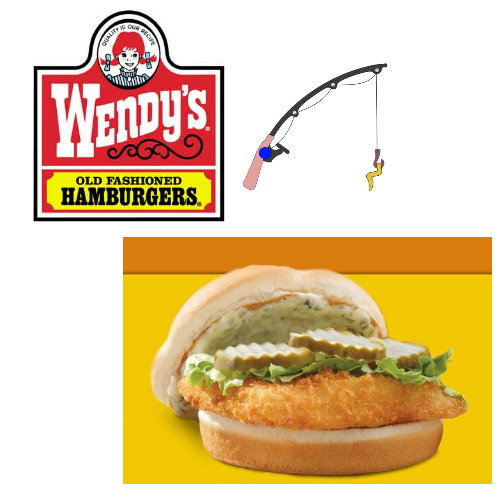 Up bargains daily deal wendy s cod sandwich combo for Wendy s fish sandwich