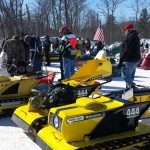 2015 Antique and Vintage Snowmobile Show at Crossroads Restaurant Marquette-004