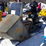 2015 Antique and Vintage Snowmobile Show at Crossroads Restaurant Marquette-005