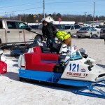 2015 Antique and Vintage Snowmobile Show at Crossroads Restaurant Marquette-010