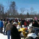 2015 Antique and Vintage Snowmobile Show at Crossroads Restaurant Marquette-013