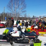 2015 Antique and Vintage Snowmobile Show at Crossroads Restaurant Marquette-020